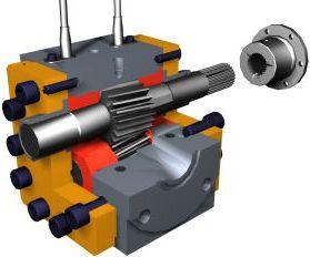 Gear Pump, type melt-X (source: Eprotec)