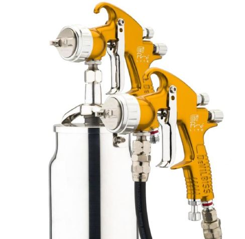 devilbiss gti pro lite spray gun suction pressure feed b s c teknik. Black Bedroom Furniture Sets. Home Design Ideas