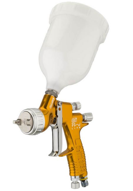 Devilbiss Gti Pro Lite Spray Gun Gravity Feed B S C