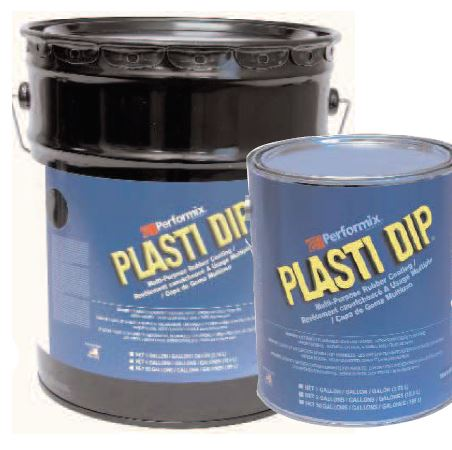 PLASTI DIP is an air dry, synthetic rubber coating
